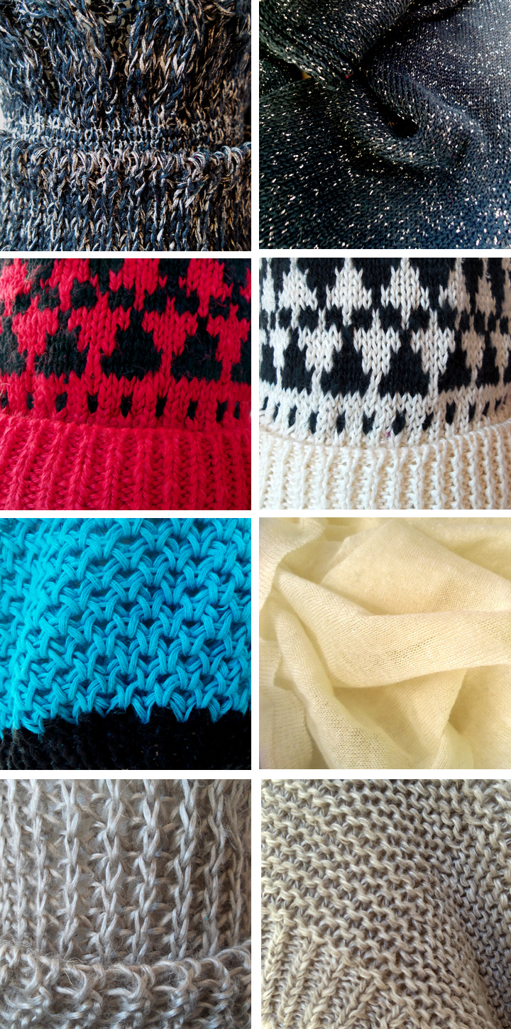 lin d'hiver bonnets maille fully-fashion