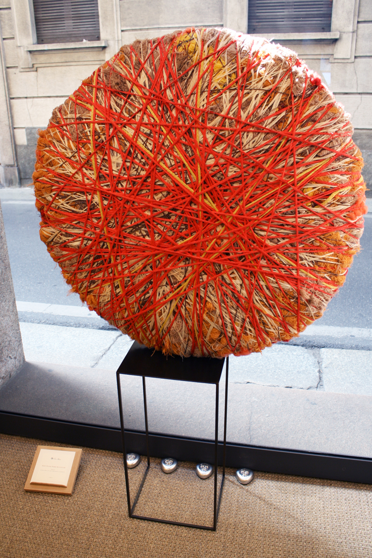Sheila Hicks @ Loro Piana Boutique